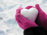 srce od snega
