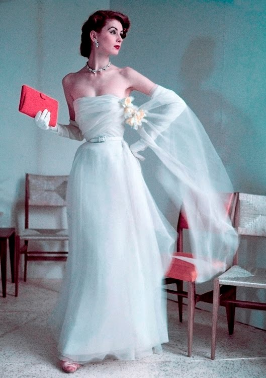 ChiffonSuzy Suzy Parker 50s vintage fashion model